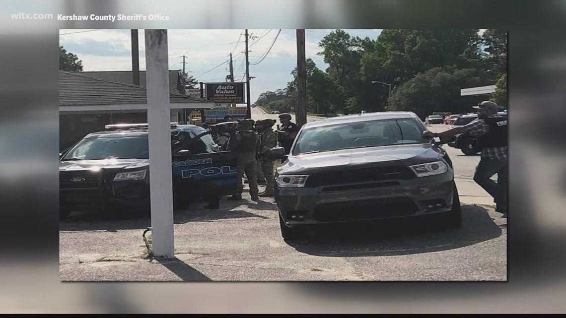 Brief standoff at South Carolina hotel ends peacefully