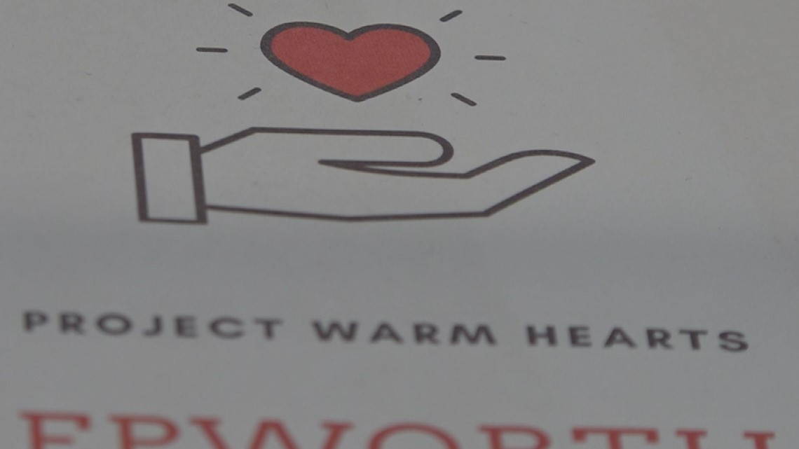 High school juniors support local nonprofits through 'Project Warm Hearts'