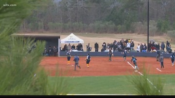 Columbia International University softball team proves to be a good host