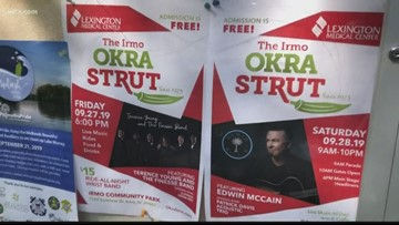 Irma Okra Strut opens this Friday and Saturday