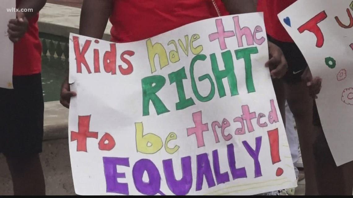 Orangeburg Youth Justice march held