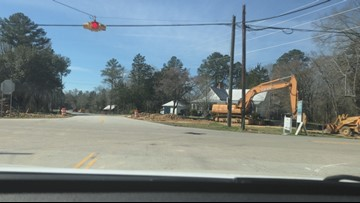 Chapin road intersection construction put behind