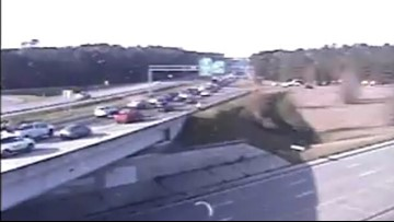 I-77 in Columbia reopens after sinkhole led to traffic problems