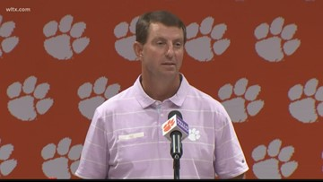 Dabo is a fair grader of his starting quarterback