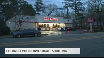 Columbia Police investigate shooting outside Family Dollar