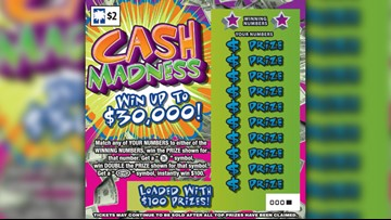 SC Lottery ends 'Cash Madness' scratch-off game due to issue with tickets