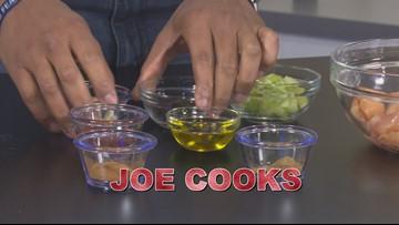 Joe Cooks!-Lexington's Brandon Smith Helps Make Croissant Stuffing