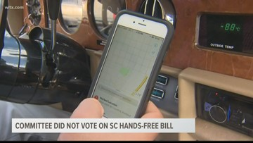 Ban on holding cellphones while driving likely dead in SC