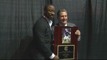Marcus Lattimore takes his place in the USC Athletics Hall of Fame