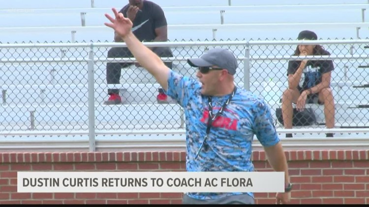 Falcons are using spring to get on the same page with new head coach Dustin Curtis