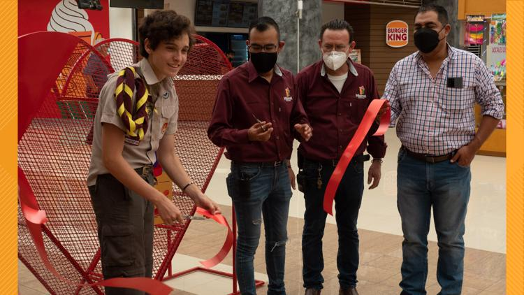 How an Irmo Boy Scout and his heart-shaped bins are  helping fight childhood cancer in Mexico