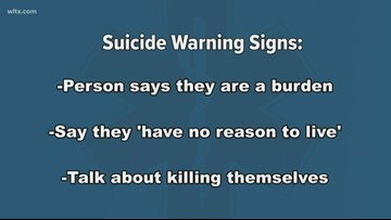 You are not along: National suicide prevention week