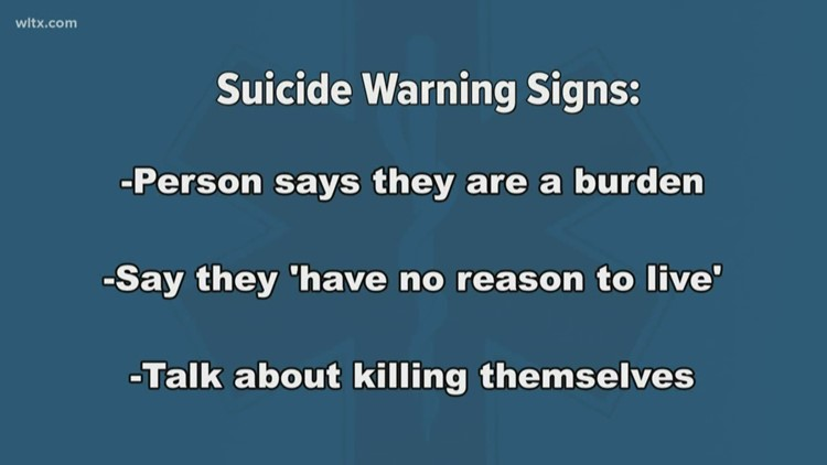 The World Health Organization says one person dies every 40 seconds from suicide