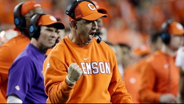 Dabo gets a jump start on the ACC Kickoff