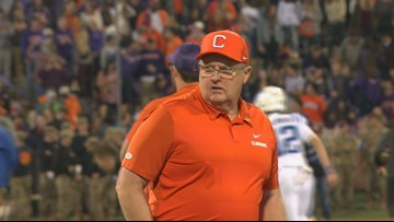 Clemson assistant will be inducted into the Furman Athletic Hall of Fame