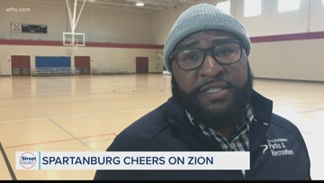 Spartanburg cheers on Zion Williamson in NBA debut