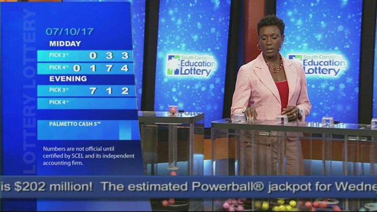 Evening Lottery Results July 10, 2017