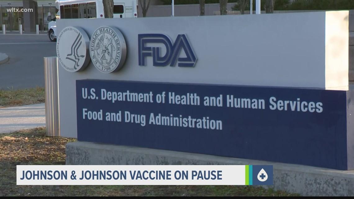 South Carolina pauses use of Johnson & Johnson vaccine