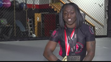 Midlands mom of two and MMA fighter