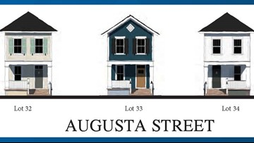 Construction under way on new West Columbia homes