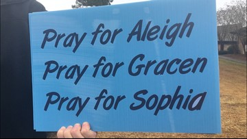 Over $1,000 raised in sign drive for Chapin teens injured in train collision