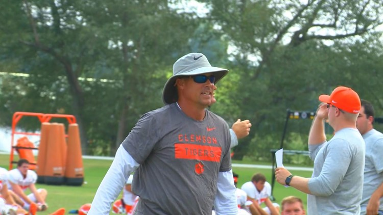 Spiers to team up with Dabo at charity golf event