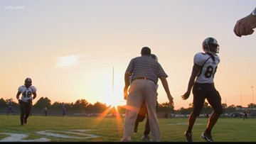 Manning football coach is stepping down