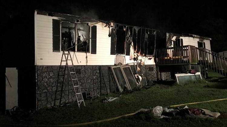Oconee County HouseFire