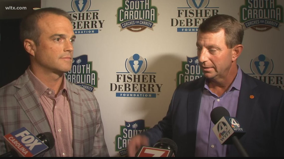Dabo and Beamer on their friendship