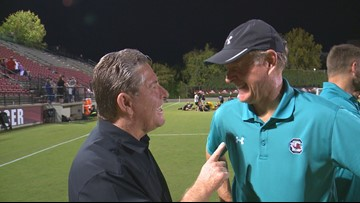 Berson records his 500th win as Gamecock head soccer coach
