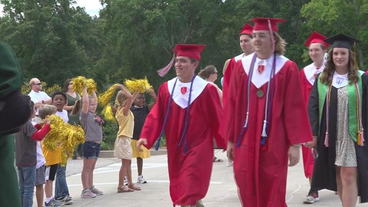 A walk down memory lane for graduating seniors