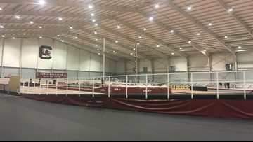South Carolina Unveils Its New Remodeled Track And Field Facility