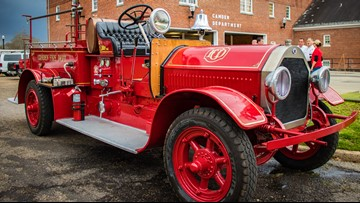 Seagrave: The fire truck that witnessed history