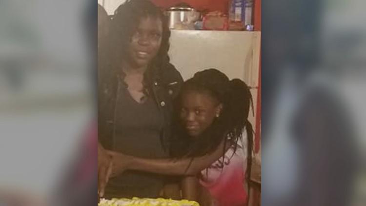 Shanta Singleton and daughter Essence