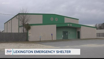 Lexington to open first emergency shelter
