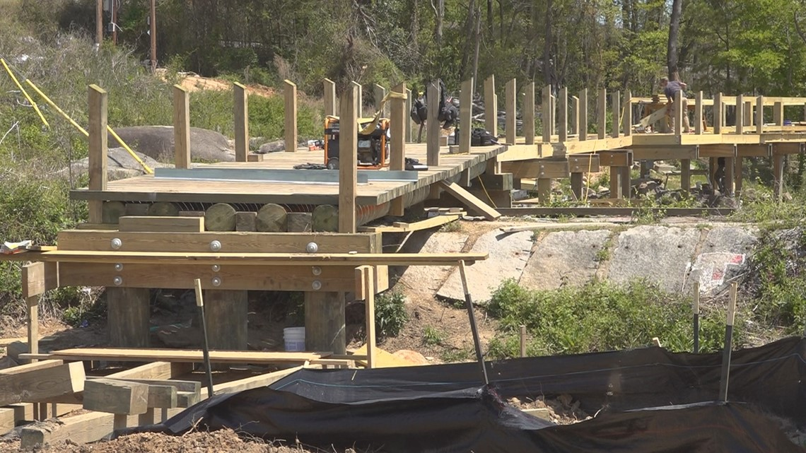 New Saluda River walkway set for completion this summer
