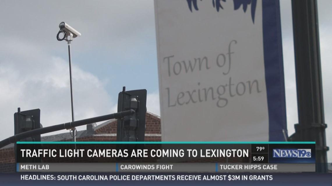 Traffic Cameras Coming to Lexington   wltx com