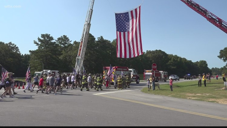 Kershaw County 9/11 Walk of Remembrance