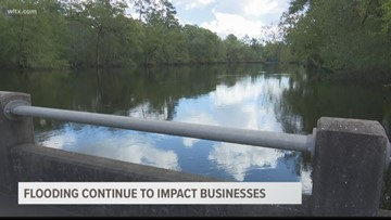 Flooding continues to impact businesses
