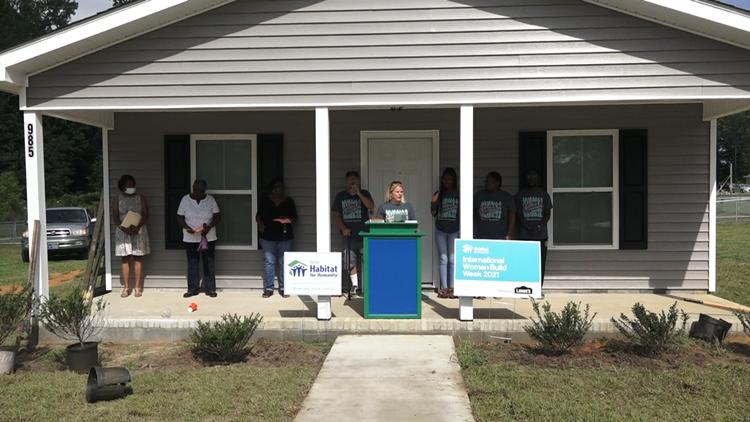 Habitat for Humanity builds new home for Orangeburg family