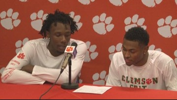 Clyde Trapp and Tevin Mack Post Syracuse Win