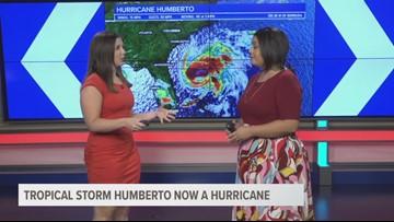 Sunday evening Hurricane Humberto update
