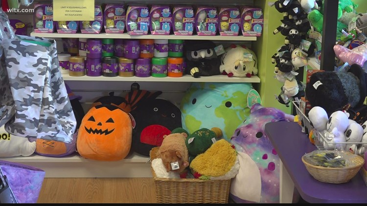 SC toy stores seeing effects of supply chain issues