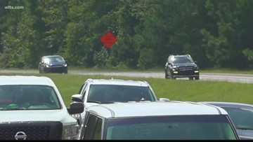 Lane reversals in effect on I-26 for coastal evacuees