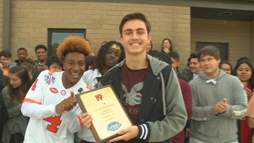 Caleb Brunson is the News19 Player of the Week