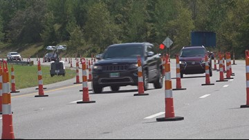 Lane reversals to continue on I-26 until no longer necessary