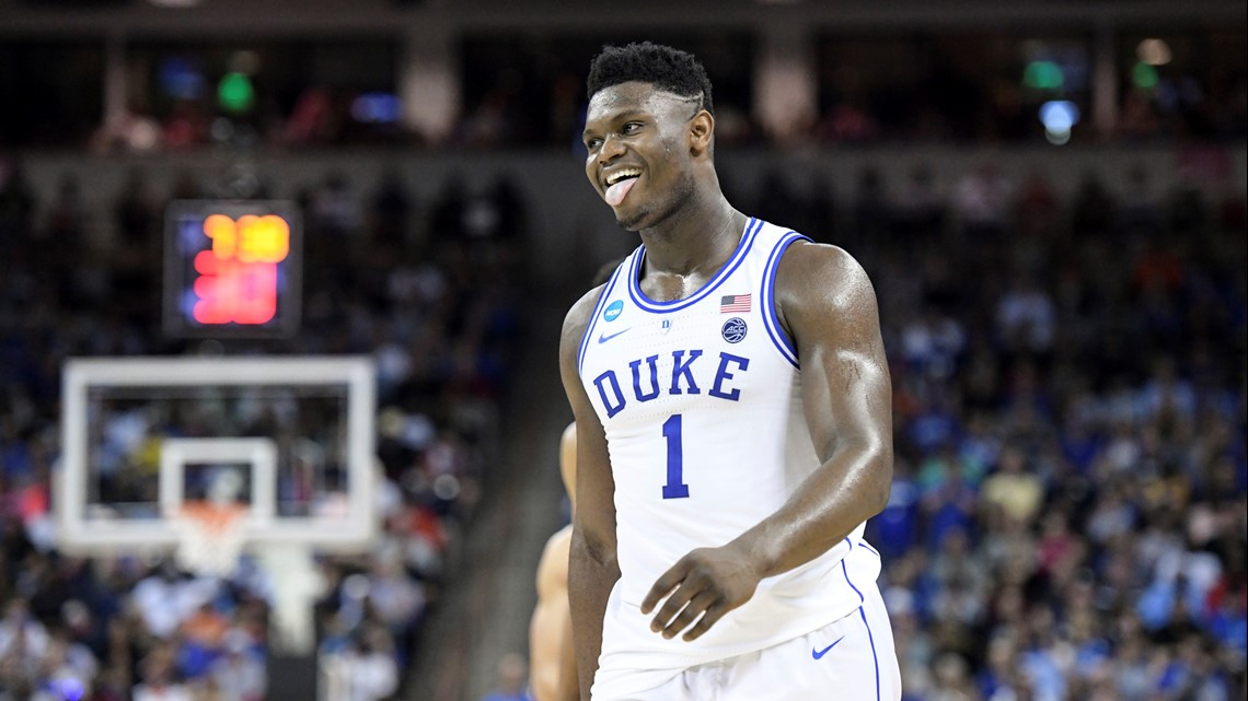 Zion is suing to terminate contract with a sports marketing company