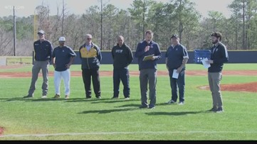 CIU baseball is 1-0 in its new home facility