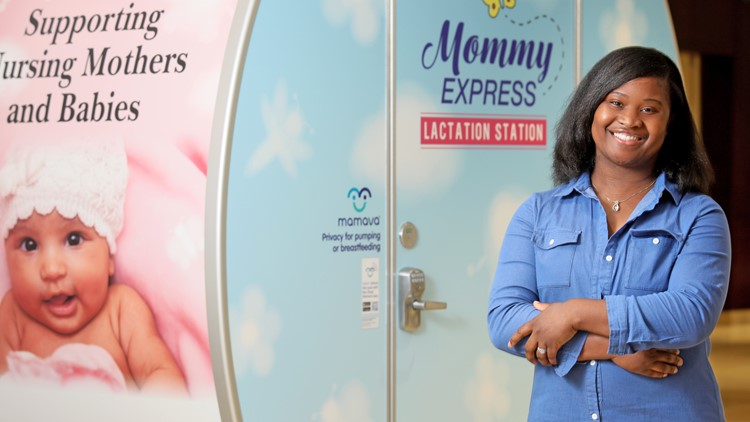 Lactation Pod Helps Breastfeeding Moms