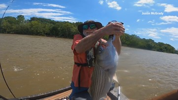 River guide takes military veterans, law enforcement officers fishing to escape stress